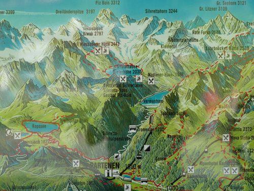 Die Silvretta-Region