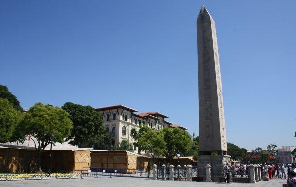 Der Theodosius-Obelisk auf dem Hippodrom