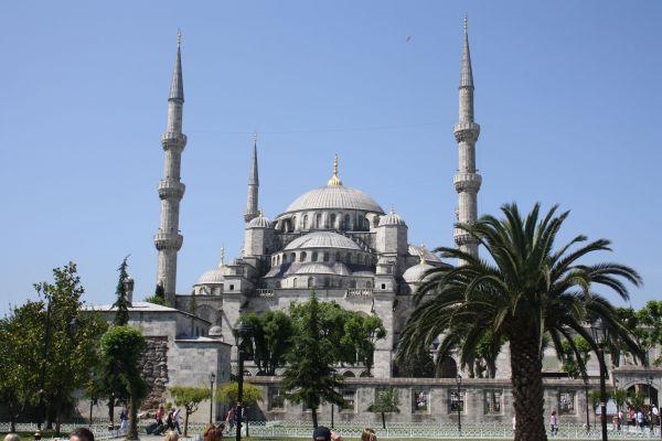 Die Sultanahmet Camii - die blaue Moschee
