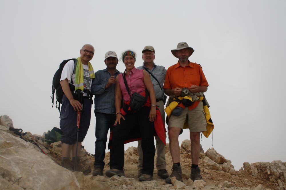 Auf dem Gipfel des Embler 3723 m
