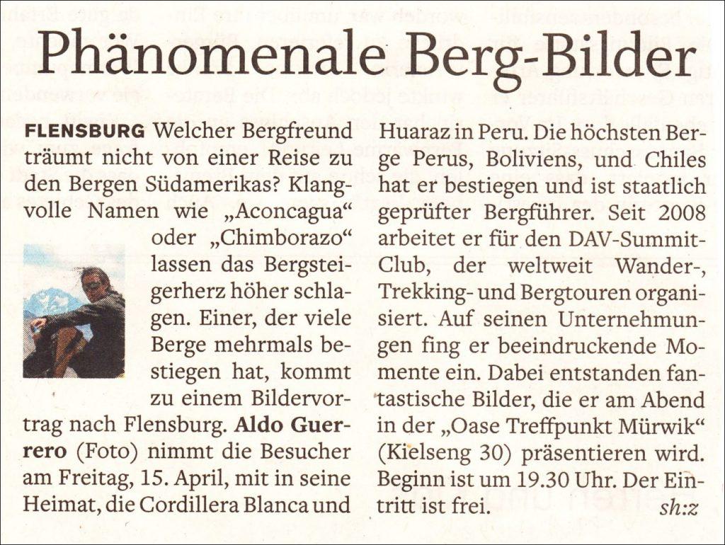 2016-04-13 Aldo im FL-Tageblatt